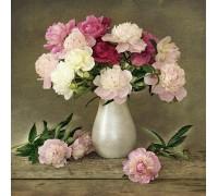 Алмазная вышивка Цветы для тебя 30 х 30 см (арт. FR140)