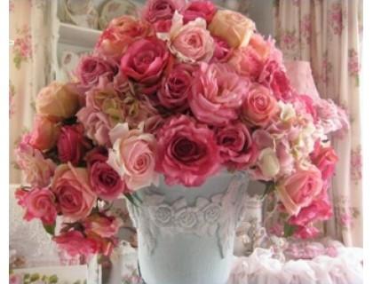 Купить Алмазная вышивка Нежный букет роз 40 х 30 см (арт. FR149)
