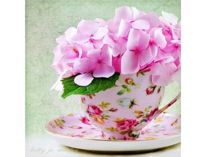 Купить Алмазная вышивка Весеннее цветение 30 х 30 см (арт. FS116) квадратные алмазы