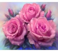 Алмазная вышивка Романтические розы 30 х 25 см (арт. FS157)