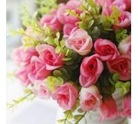 Алмазная вышивка Праздничные цветы 25 х 25 см (арт. FS160)