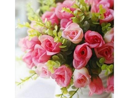 Купить Алмазная вышивка Праздничные цветы 25 х 25 см (арт. FS160)
