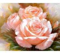 Набор алмазной вышивки Три розы 40 х 40 см (арт. FS181)