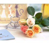 Алмазная вышивка Сладкий запах роз 30 х 45 см (арт. FS350)