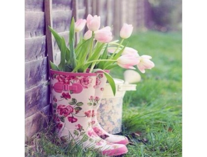 Купить Алмазная вышивка Тюльпаны 40 х 30 см (арт. FS386) набор для творчества