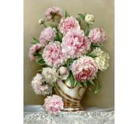 Алмазная вышивка Величественные цветы 30 х 40 см (арт. FS418)