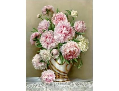 Купить Алмазная вышивка Величественные цветы 30 х 40 см (арт. FS418)