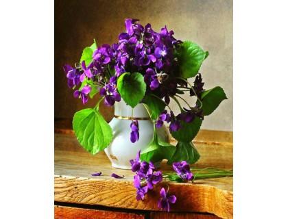 Купить Алмазна вишивка Свіжі квіти 30 х 45 см (арт. FS628)