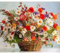 Алмазная мозаика Цветы весны 40 х 30 см (арт. FS692)