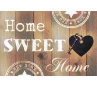 Картина с алмазной вышивки 30 х 40 см Любимый дом (арт. FS729) полная выкладка