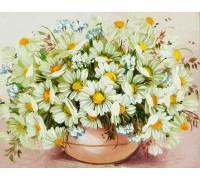 Вышивка алмазами без коробки Полевые цветы для мамы 40 х 30 см (арт. MA603)