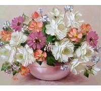 Алмазная вышивка без коробки Сладкий аромат цветов 40 х 30 см (арт. MA622) MyArt
