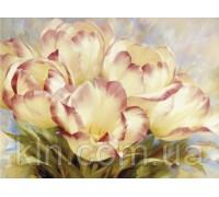 Алмазная вышивка без коробки Нежные тюльпаны MyArt 40 х 30 см (арт. MA643)