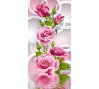 Алмазная вышивка Цветение чайных роз 51 х 26 см (арт. PR452)