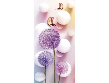 Купить Алмазная вышивка Нежные одуванчики 51 х 25 см (арт. PR497) частичная выкладка