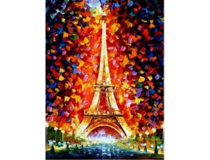 Купить Алмазная вышивка Очарование Парижа 30*20 см (арт. FS003)