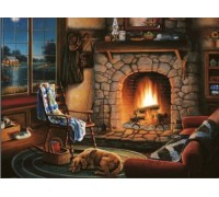 Алмазная вышивка Домашний уют 30 х 40 см (арт. FS012)