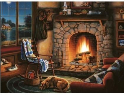 Купить Алмазная вышивка Домашний уют 30 х 40 см (арт. FS012)