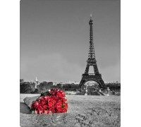 Набор алмазной мозаики Париж, Эйфелева башня 50*40 см (арт. FS016)