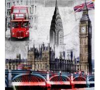 Набор алмазной вышивки Чудесный Лондон 20 х 20 см (арт. FS025)
