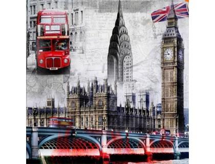 Купить Набор алмазной вышивки Чудесный Лондон 20 х 20 см (арт. FS025)