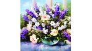 Алмазная вышивка цветы купить