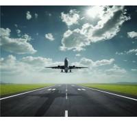 Алмазная вышивка Самолет в небе 30 х 40 см (арт. FR094)