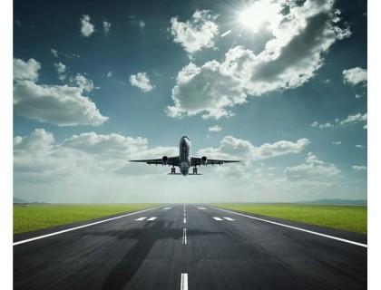 Купить Алмазная вышивка Самолет в небе 30 х 40 см (арт. FR094)