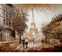 Набор алмазной вышивки Мгновения Парижа 30 х 40 см (арт. FS032)