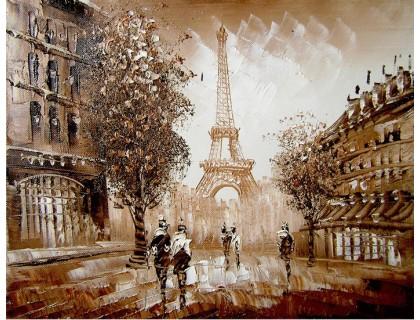 Купить Набор алмазной вышивки Мгновения Парижа 30 х 40 см (арт. FS032)