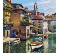 Алмазная вышивка Канал Венеции 20*20 см (арт. FS121)