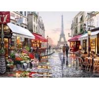 Алмазная вышивка 50 х 40 см на подрамнике Любимый Париж (арт. TN674)