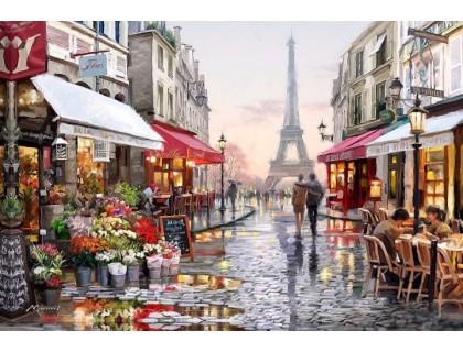 Купить Алмазная вышивка 50 х 40 см на подрамнике Любимый Париж (арт. TN674)
