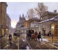 Набор алмазной вышивки Средневековый город 50 х 40 см (арт. FS331)