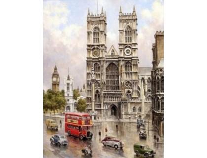 Купить Алмазная мозаика Туманный Лондон 30*40 см (арт. FS338)