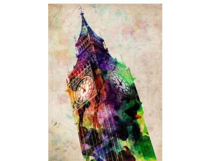 Купить Набор алмазной вышивки Биг-Бен в Лондоне 30 х 40 см (арт. FS342)