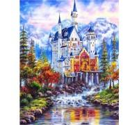 Алмазная мозаика Сказочный дом 30*40 см (арт. FS375)