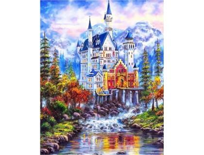 Купить Алмазная мозаика Сказочный дом 30*40 см (арт. FS375)