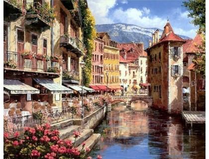 Купить Алмазная вышивка Канал Венеции 50 х 40 см (арт. FS467)