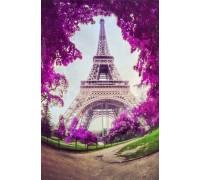 Набор алмазной вышивки Париж в цвету 30 х 40 см (арт. FS517)