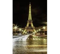 Алмазная вышивка 5D Шарм Парижа 45 х 30 см (арт. FS585)