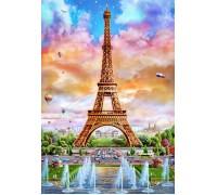 Алмазная вышивка Солнечная Франция 60 х 40 см (арт. FS616)