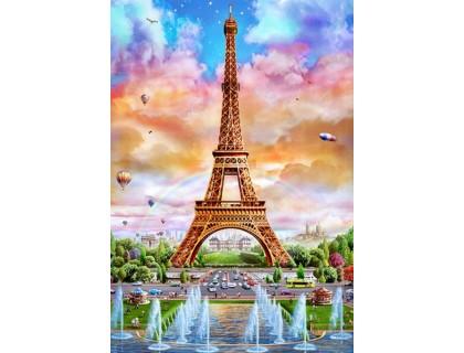 Купить Алмазная вышивка Солнечная Франция 60 х 40 см (арт. FS616)