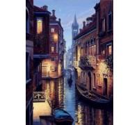 Выкладка мозаика стразами Венеция в ночи 40 х 55 см (арт. FS626)