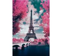 Алмазная вышивка В глазах Париж  50 х 40 см (арт. FS686)