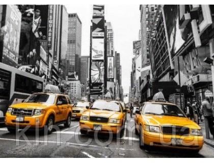Купить Алмазная вышивка без коробки MyArt Такси Нью-Йорка 40 х 50 см (арт. MA758)