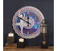 Часы с алмазной вышивкой Балерина (FT011)