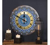 Часы с алмазной вышивкой Узоры (FT010)