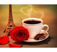 Набор алмазной вышивки Кофе с шоколадом 32 х 20 см (арт. FS048)