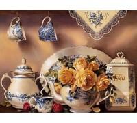 Алмазная вышивка Приглашение к чаепитию 40 х 30 см (арт. FS111)